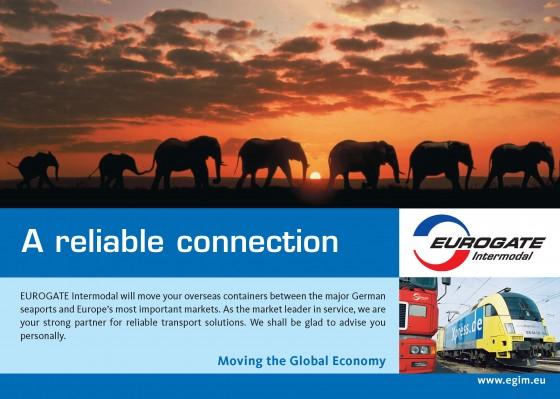 Eurogate Intermodal Anzeige