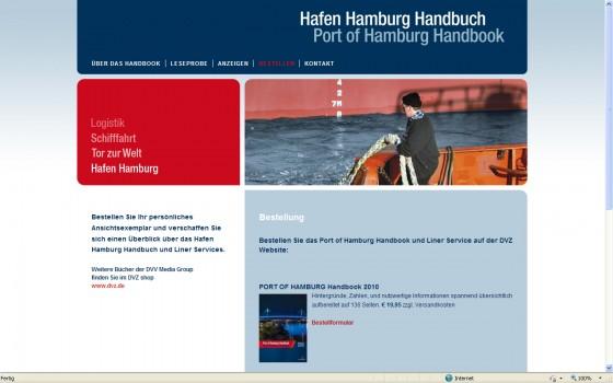 Port of Hamburg Web