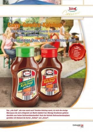 Salesblatt Ketchup